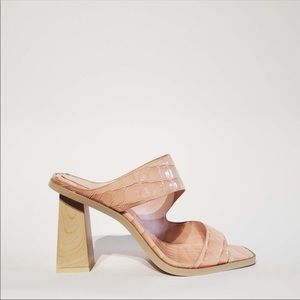 NWT heeled mules, imagine Vince Camuto, size 6
